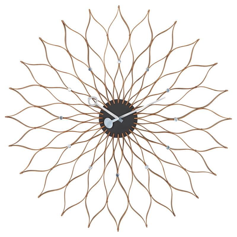 Vitra Sunflower Clock, birch