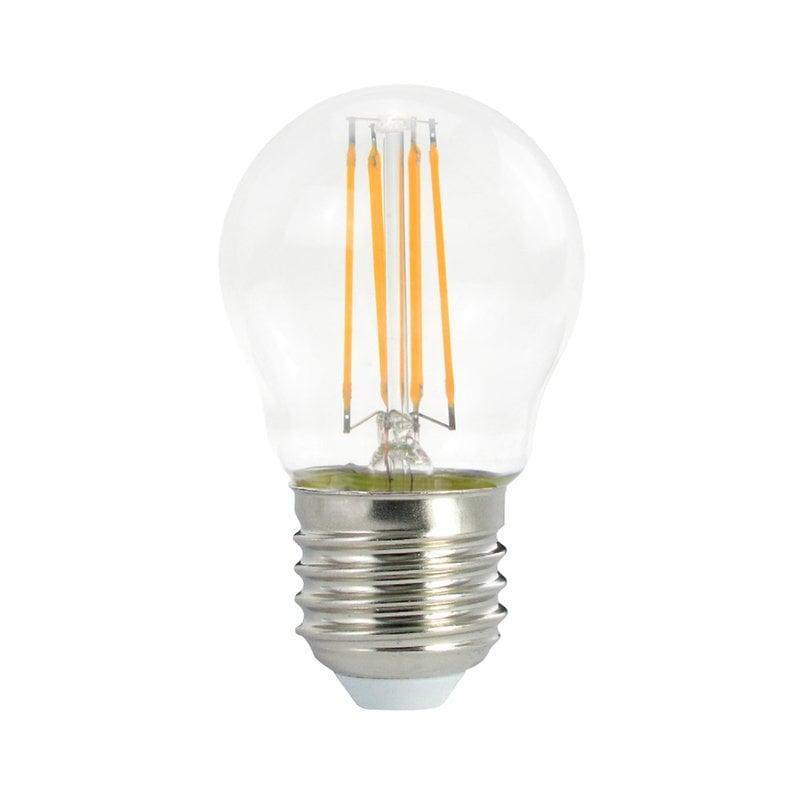 Airam LED P45 filament bulb 4W E27 470lm
