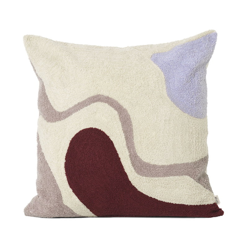 Ferm Living Vista tyyny, luonnonvalkoinen