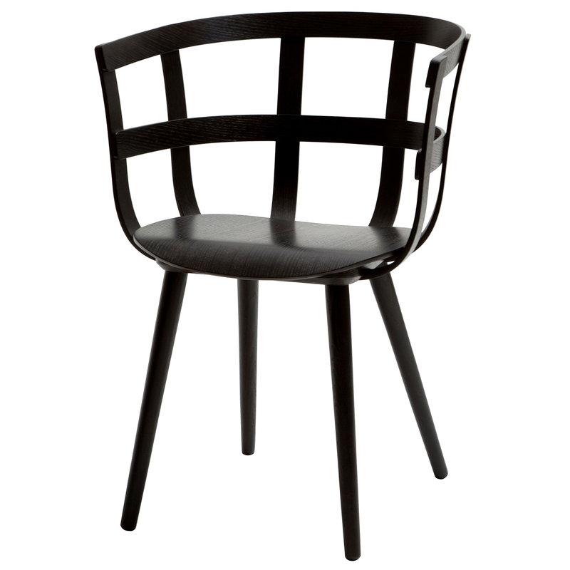 Inno Julie chair, black stained ash