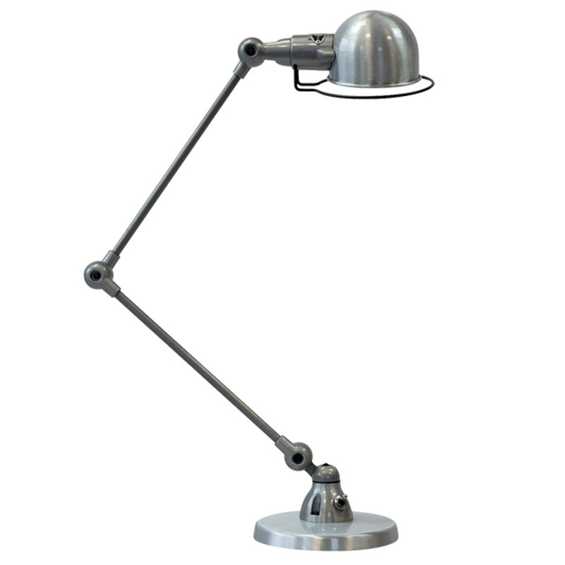 Jieldé Signal SI333 table lamp, brushed steel