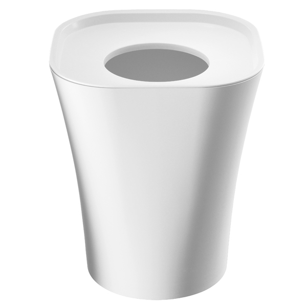 Magis Trash paper bin, large, white