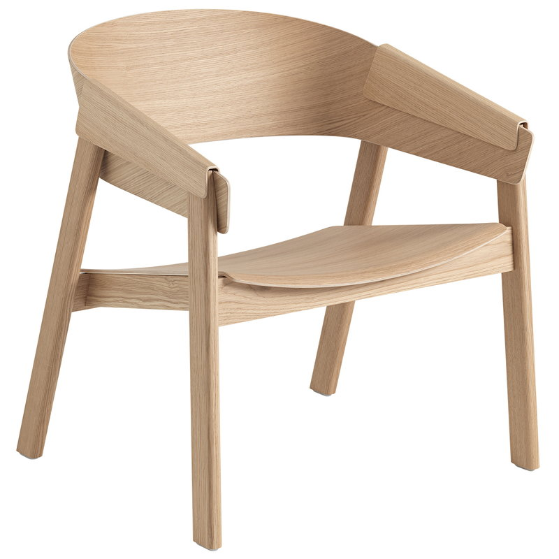 Muuto Cover lounge chair, oak, PU lacquer