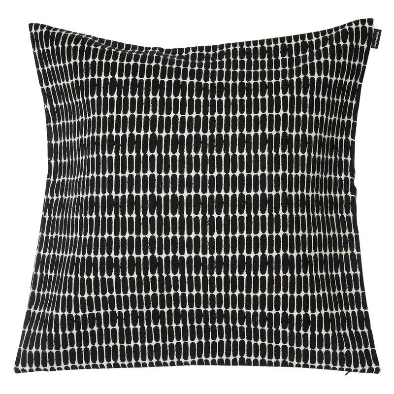 Marimekko Alku tyynynpäällinen 50 x 50 cm, musta