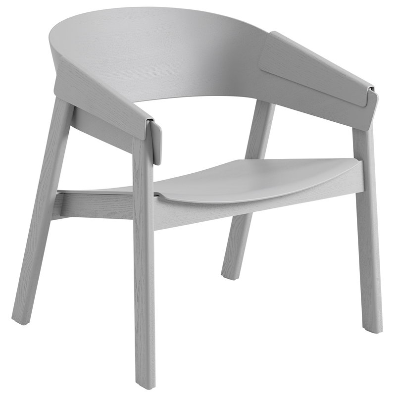 Muuto Cover lounge chair, grey