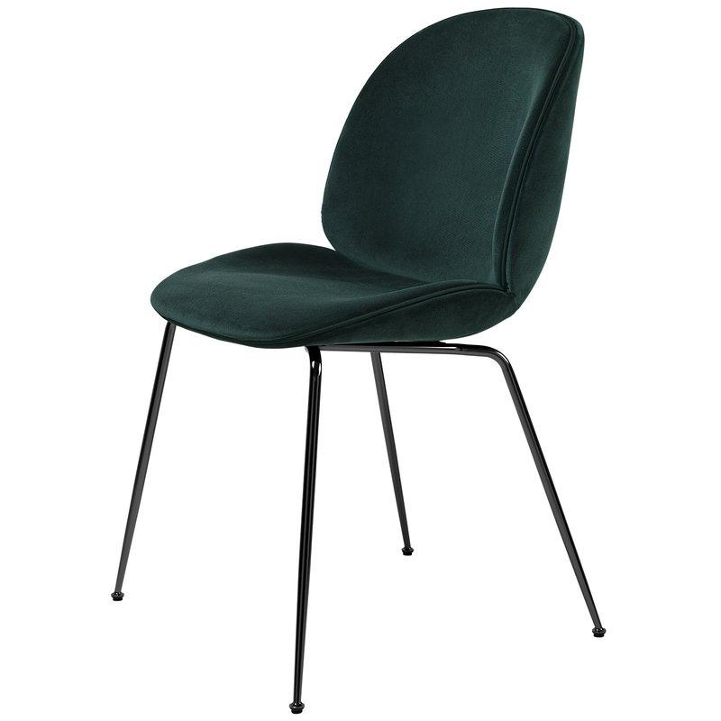Gubi Beetle tuoli, musta kromi - Dandy 502