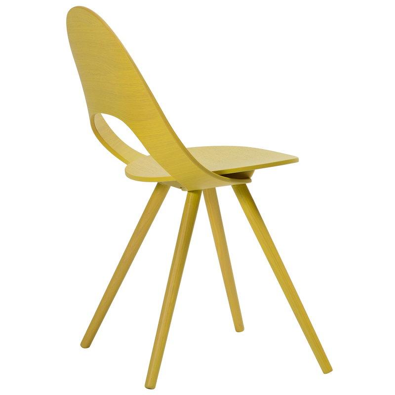 Inno Ono tuoli, keltainen
