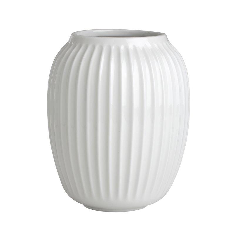 Kähler Vaso Hammershøi 200 mm, bianco