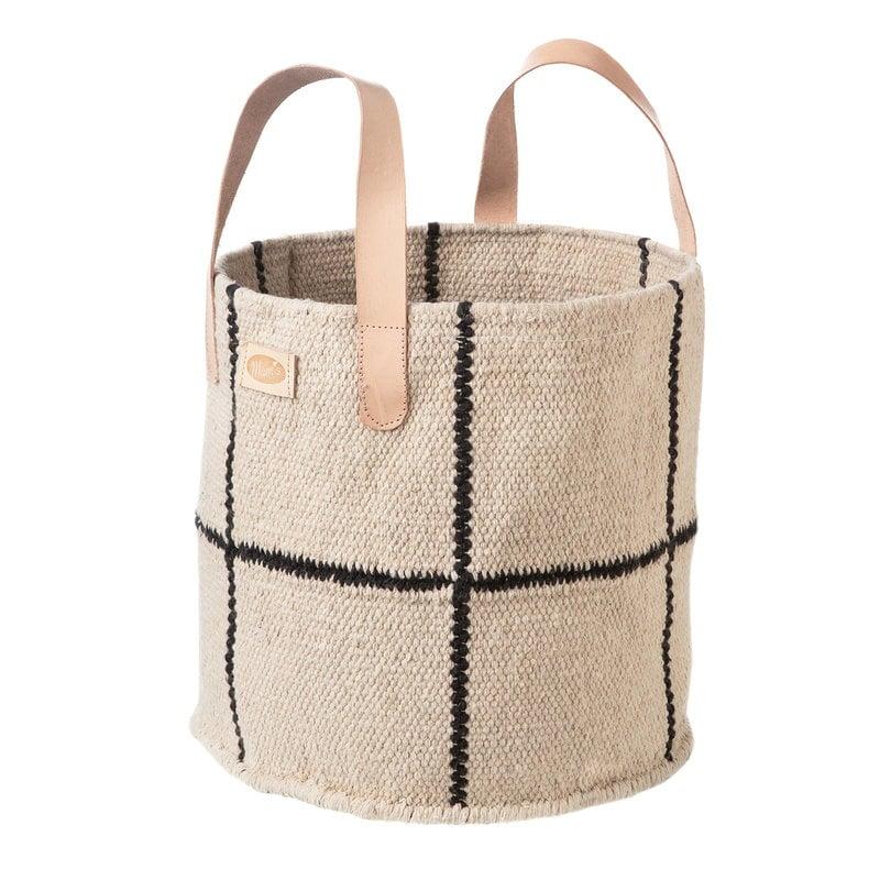 MUM's Baby Boy fabric basket, white