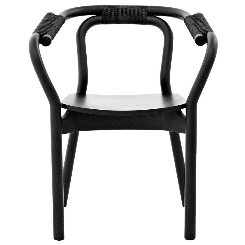 Normann Copenhagen Knot chair, black
