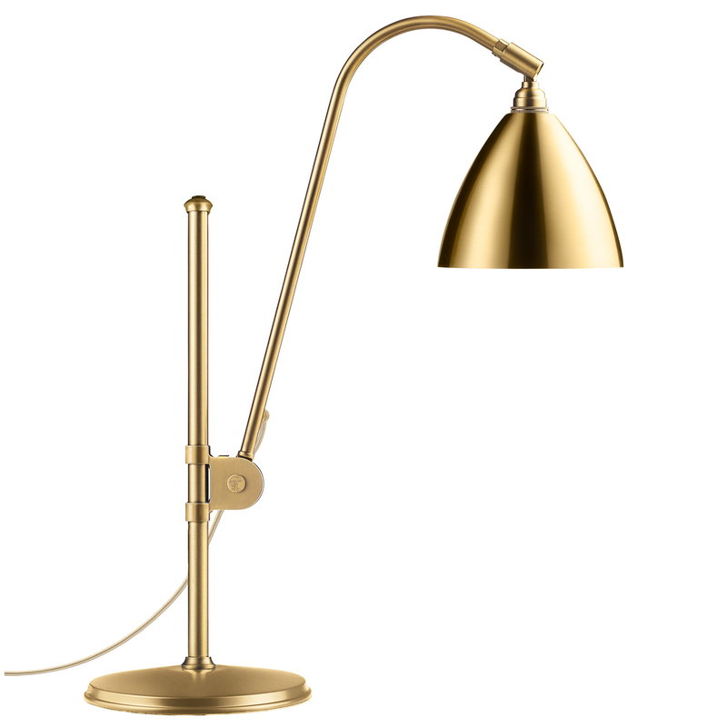 Gubi Bestlite BL1 table lamp, brass