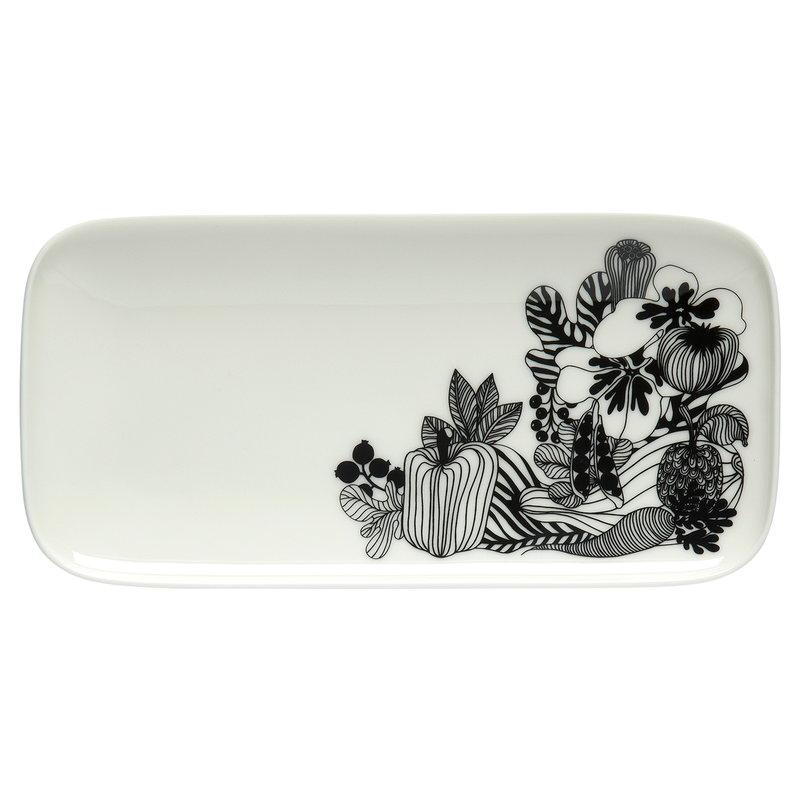 Marimekko Oiva - Siirtolapuutarha plate 12 x 24,5 cm
