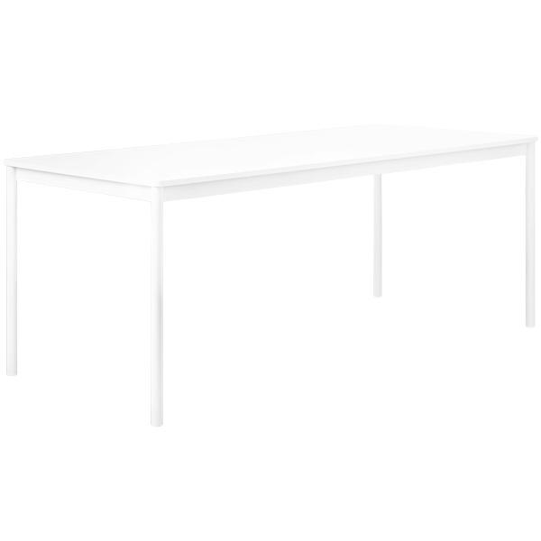 Muuto Base pöytä 190 x 85 cm, laminaatti ABS-reunalla