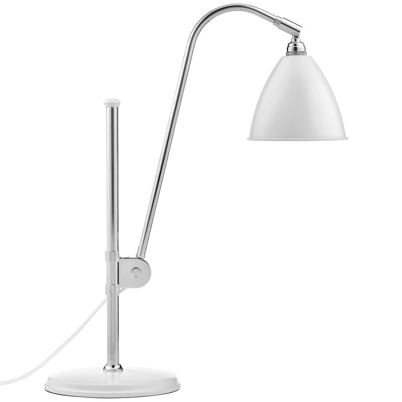 Gubi Bestlite BL1 table lamp, chrome - soft white
