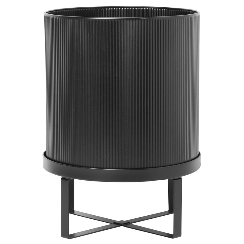 Ferm Living Bau pot, large, black