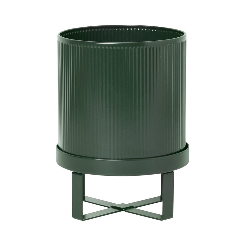 Ferm Living Bau pot, small, dark green