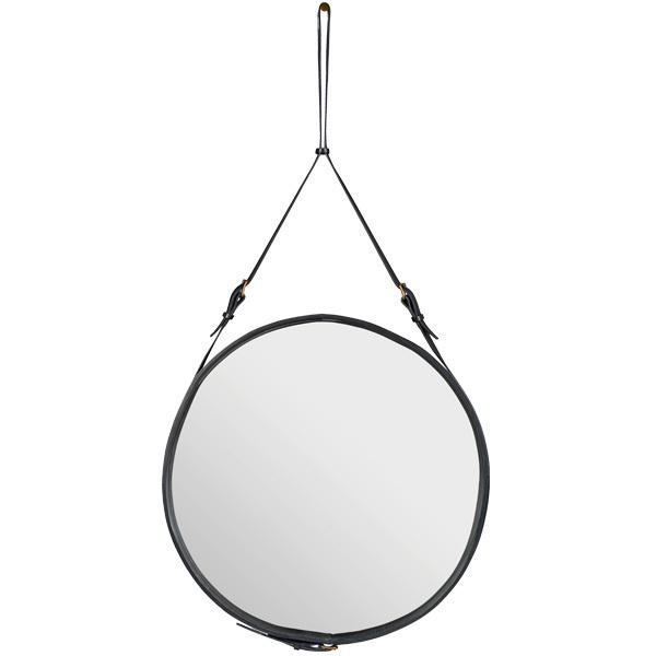 Gubi Specchio Adnet L, nero