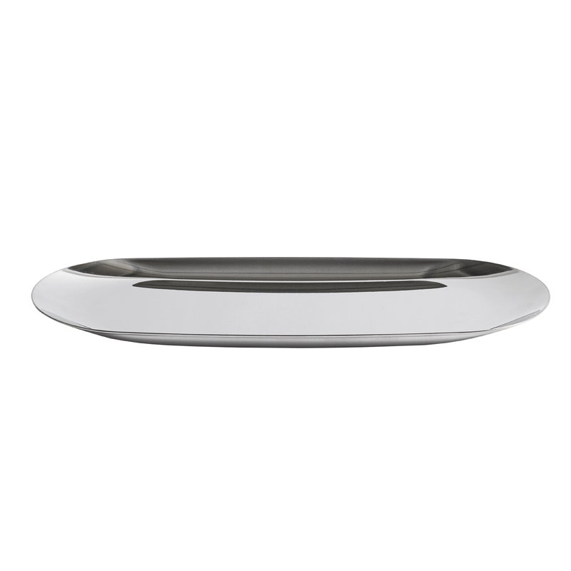 Hay Tray, oblong, L, silver