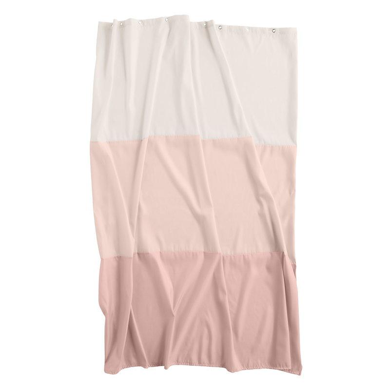 Hay Aquarelle horizontal suihkuverho, rose