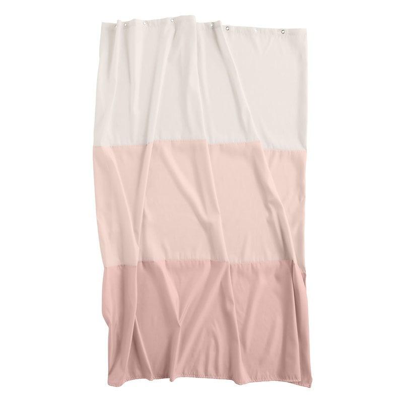 Hay Aquarelle horizontal shower curtain, rose
