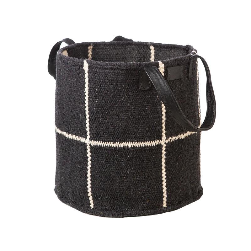 MUM's Baby Boy fabric basket, black