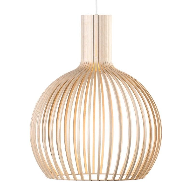 Secto Design Lampada a sospensione Octo Small 4241, betulla