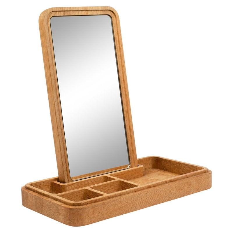 Spring Copenhagen Mirror Box, oak