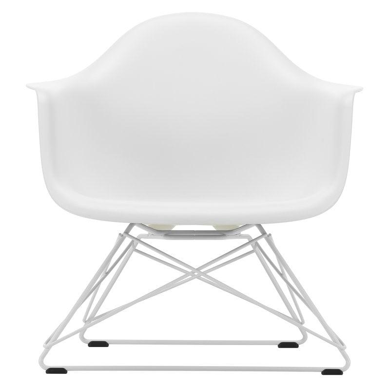 Vitra Eames LAR armchair, white - white