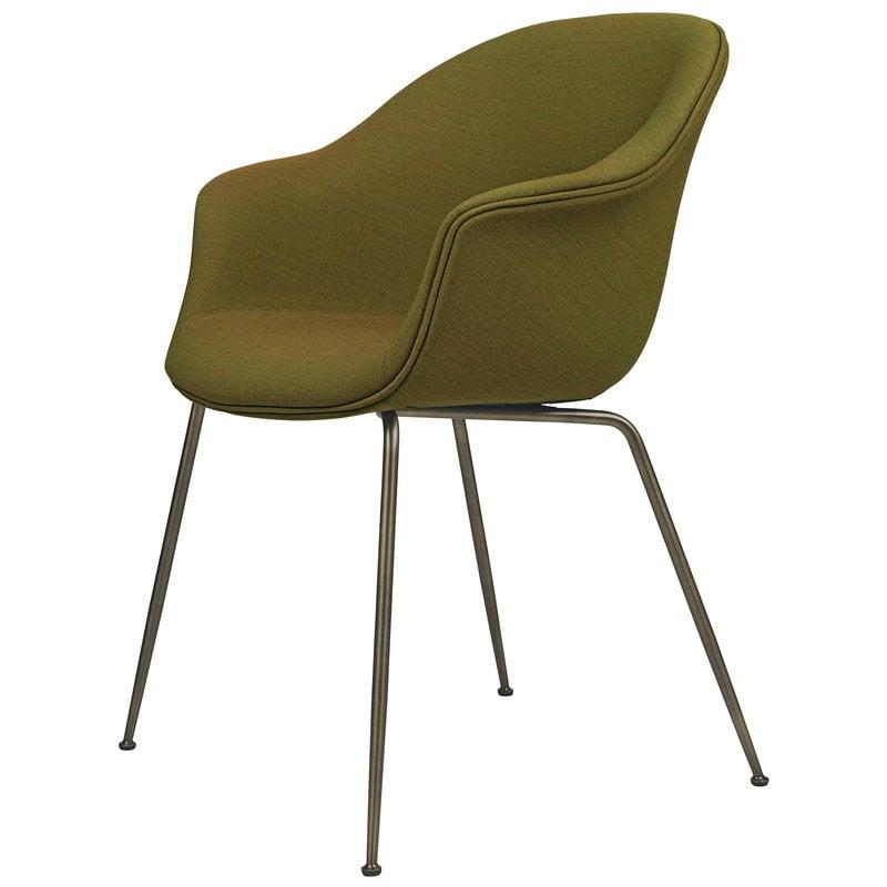 Gubi Bat chair, Remix 412 - antique brass base