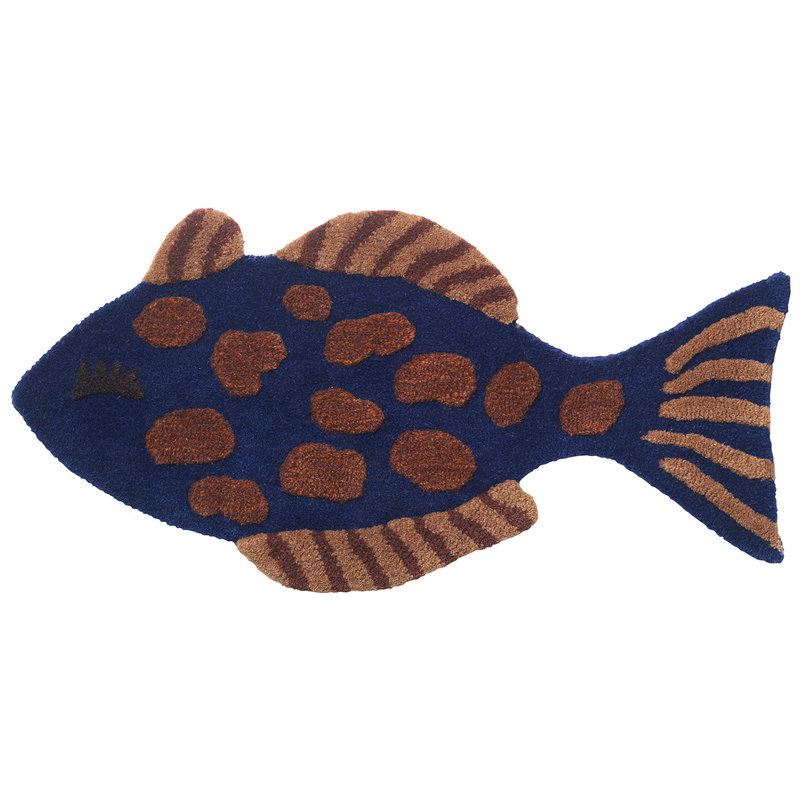 Ferm Living Fish tufted wall/floor deco