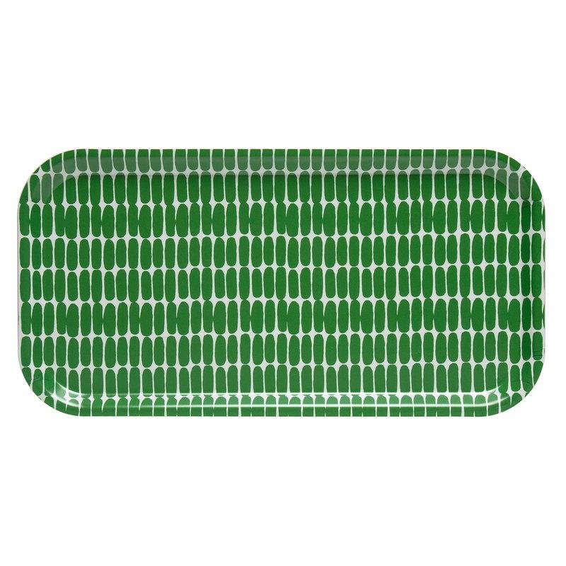 Marimekko Alku tray, green