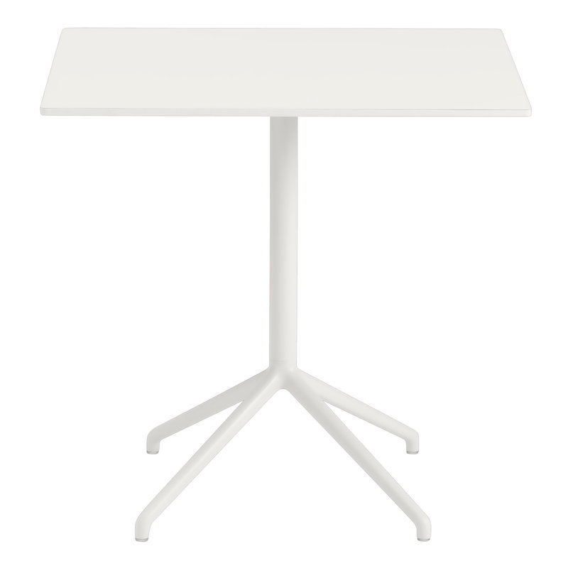 Muuto Still Cafe table 75 x 65 cm, white