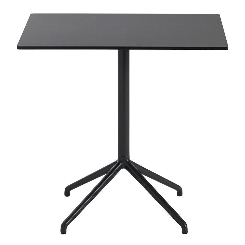 Muuto Still Cafe table 75 x 65 cm, black