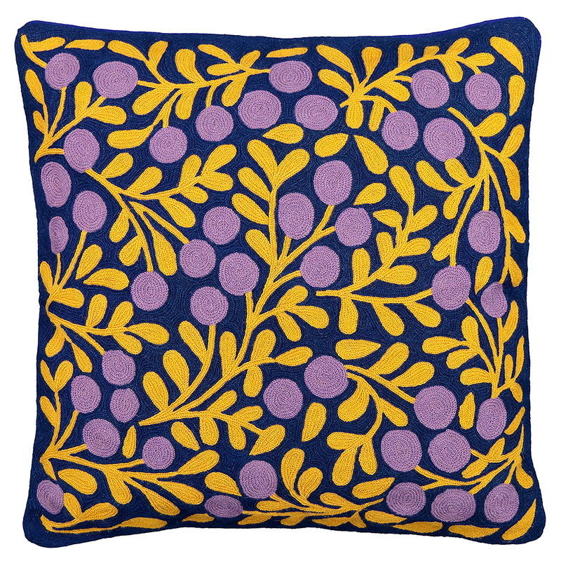 Finarte Terttu cushion cover, blue