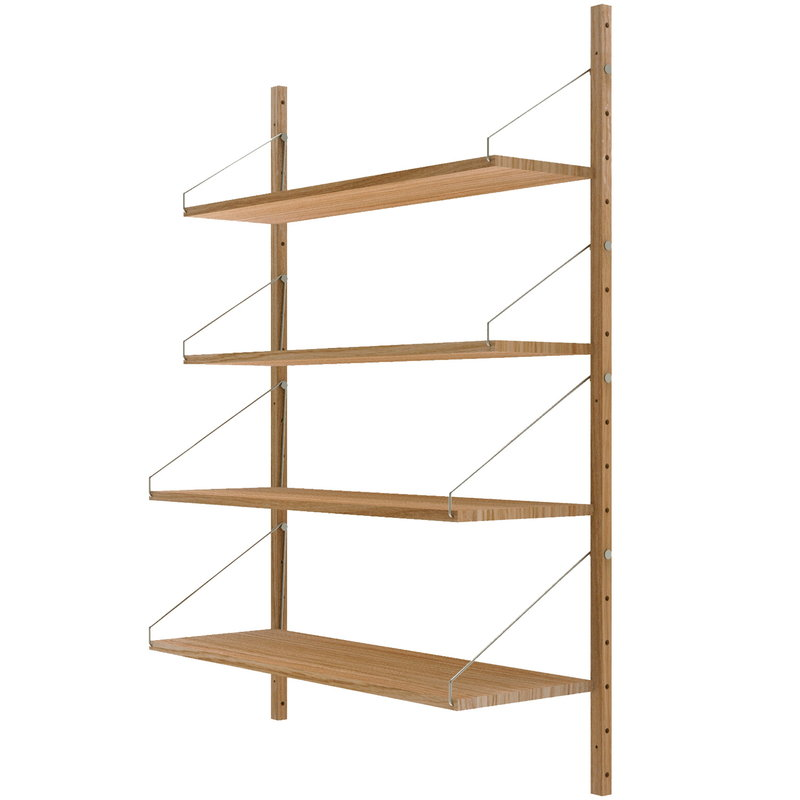 Frama Shelf Library wall shelf, low