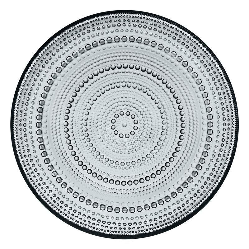 Iittala Piatto Kastehelmi 248 mm, grigio