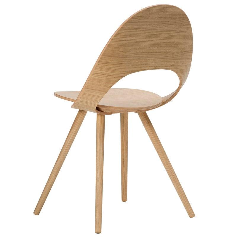 Inno Ono chair, matt lacquered ash