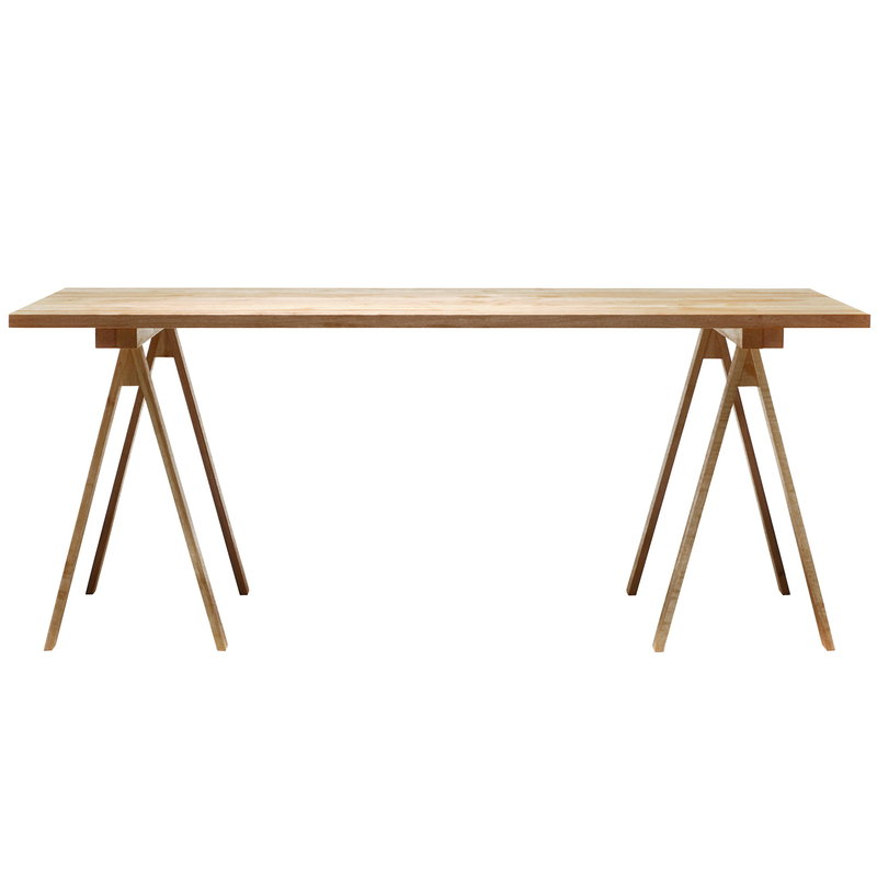 Nikari Arkitecture PPK2 table top 80 x 180 cm, birch