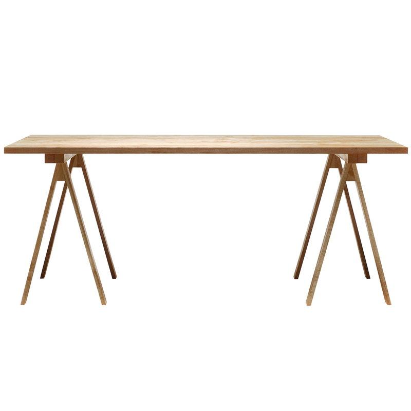 Nikari Piano del tavolo PPK2, 80 x 180 cm, betulla