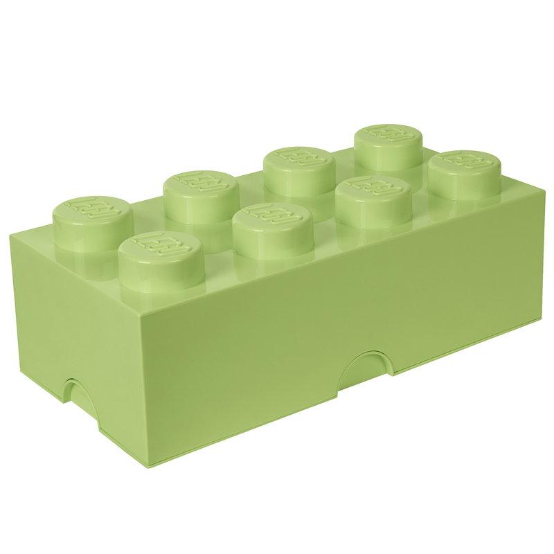 Room Copenhagen Lego Storage Brick 8, spring yellowish green
