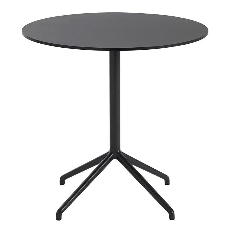 Muuto Still Cafe table 75 cm, black