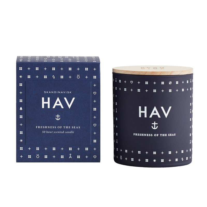 Skandinavisk Candela profumata con coperchio, HAV