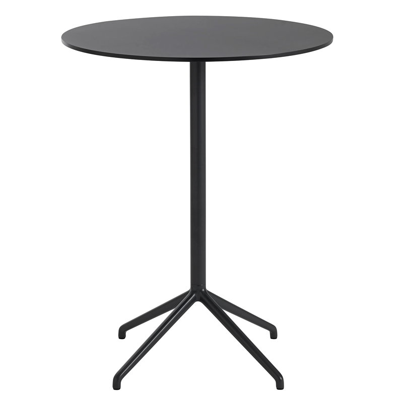 Muuto Tavolo da bar Still Cafe 75 cm, alt. 95 cm, nero