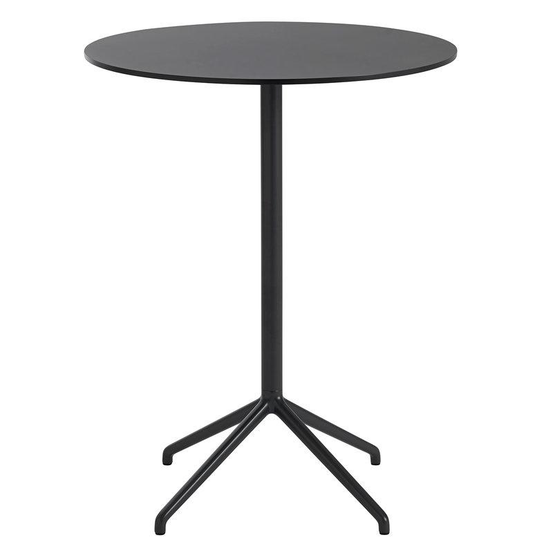 Muuto Still Cafe baaripöytä 75 cm, k. 95 cm, musta