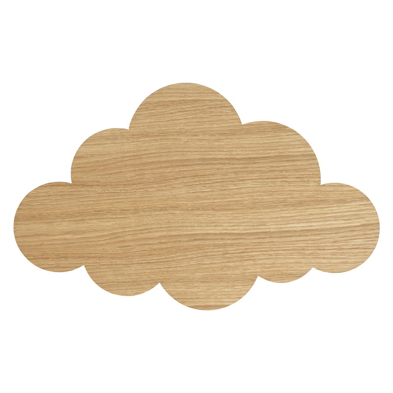 Ferm Living Cloud seinävalaisin, öljytty tammi
