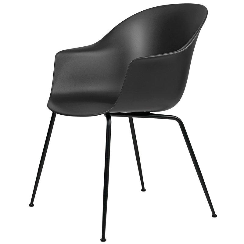Gubi Bat chair, black - black base