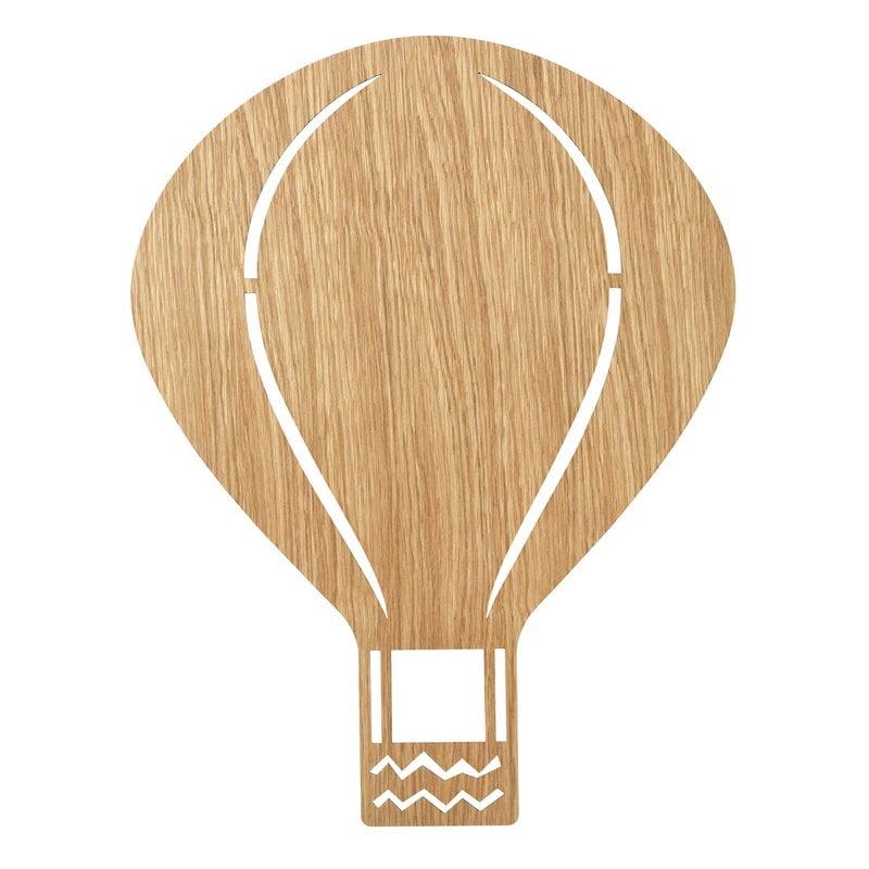 Ferm Living Air Balloon wall lamp, oiled oak