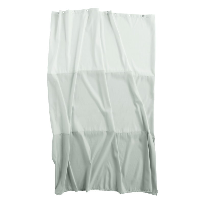 Hay Aquarelle horizontal shower curtain, eucalyptus