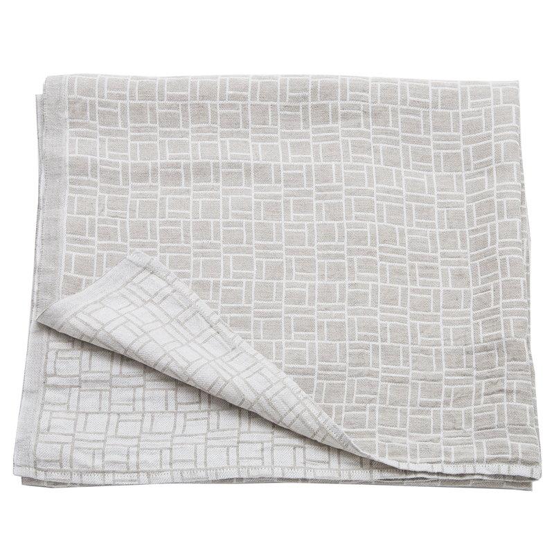 Johanna Gullichsen Pure bath towel 100 x 180 cm, medium flax