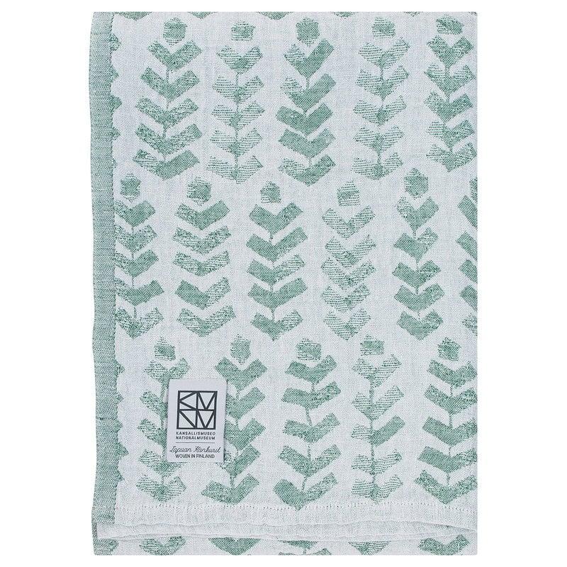Lapuan Kankurit Ruusu x Hvitträsk bath towel, aspen green